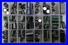 New 24Value 124Pcs Electrolytic Capacitor Assortment Box Kit Range 22Uf-4700Uf 6