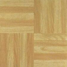 Wood Effect Tiles Self Adhesive Sticky Vinyl Laminate Flooring Square 31 x 31cm