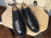 Men's Cole Haan Sz 8.5 M Black Leather Lace Up Oxford Dress Shoes