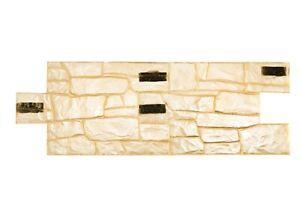 3D Granite Stone Set 2 pcs Vertical Decorative Impression Concrete Cement Stamp
