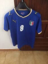 maillot maglia italie italia gattuso collector milan ac naples juventus roma