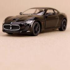 2013 Black Maserati GT Gran Tursimo Sports Car Model 1:38 Die-Cast Pull-Back