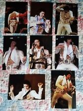 Elvis Presley 8 Photo Set-Rapid City/1977 CBS-TV Special & FREE CD!