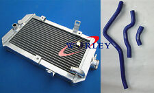 Aluminum Radiator & Hose For YAMAHA RAPTOR 660 YFM660R 2001-2005 01 02 03 04 05
