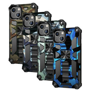 Military Camouflage Heavy Duty Shockproof Case Cover For iPhone 12 11 Pro Max XS