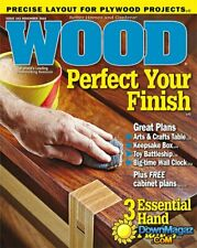 Better Homes & Gardens Wood November 2016 Perfect Your Finish