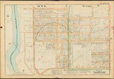 1888 E. ROBINSON MONROE COUNTY ROCHESTER NY GENESEE RIVER COPY PLAT ATLAS MAP
