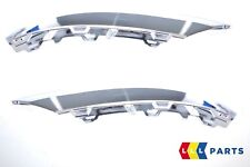 NEW GENUINE MERCEDES BENZ MB GLK X204 AMG FRONT BUMPER DRL CHROME TRIM PAIR SET