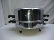 """Saladmaster T304 Surgical Stainless 11"""" Electric Skillet Fry Roasting Pan & Lid"""