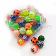 10Pcs 27mm Colorful Bouncy Jet Balls Kids Toy For Pinata Loot Party Bag Fillers