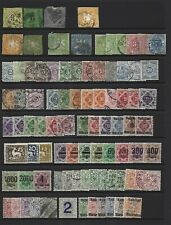 Germany - Wurttemberg.  Collection of 98 stamps, MInt & Used.