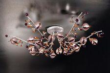 Plafoniera classica di design platino coll. BELL ametista 1650/PL18L