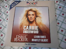 Carrie Underwood Tim McGraw  C2C March 2013 O2 London Concert Program Book