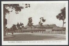 India vintage c.1940 postcard BOMBAY GYMKHANA
