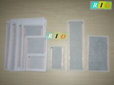 3.7V-12V Electric Carbon Fiber Heating Cloth Heated Film Cushion Pad Mat Sample