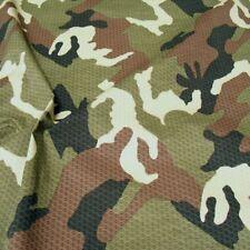 All Terrain Camouflage robuster Baumwoll-Stoff Segeltuch Flecktarn Meterware