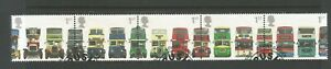 GB 2001 150th Anniversary of 1st Double Decker Bus. Used Horiz Strip  SG 2210a
