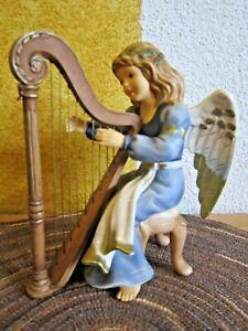 Goebel Gloria Engel spielt Harfe aus Himmlische Klänge