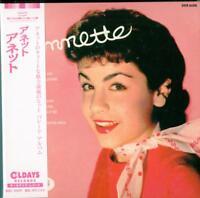 ANNETTE-S/T-JAPAN MINI LP CD BONUS TRACK C94