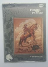 Craftool Leather Picture Pattern 6006 Buffalo Native American Indian Gene Noland
