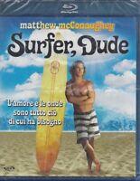 Blu-ray **SURFER DUDE** con Mattthew McConaughey nuovo sigillato 2008