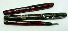 Lot stylos plume porte mine Vintage Waterman's Fountain pens & mechanical pencil