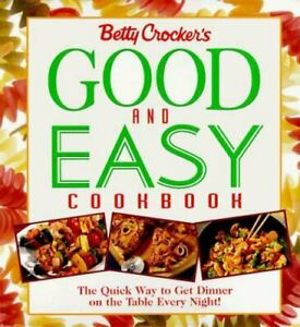 Vintage 1996 BETTY CROCKER'S GOOD & EASY COOKBOOK First Edition - Clean - USA