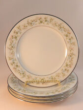 Noritake Savannah Bread And Butter Plates Lot of 4 2031 Japan Pink Blue Flowers