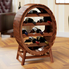 Weinregal Flaschenregal Holz Weinständer Weinfass Fass Wein Regal 12 Flaschen