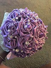 Wedding Bouquets Bridal Silk Flower Holder Brooch Decoration Pearl