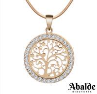 Collar Colgante Joya Mujer Oro Plata Árbol De Vida Regalo Día de la Madre Amor