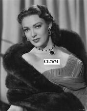 Linda Darnell Studio Movie Promotional Portrait Photo