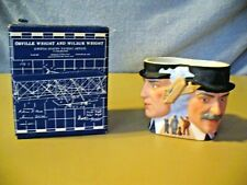 """Avon Collector Character Mug - """"The Wright Brothers"""" -1985 - Vintage"""