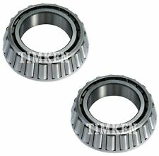Pair Set 2 Rear Inner Timken Wheel Bearings for Jaguar Vanden Plas XJ12 XJ6 RWD