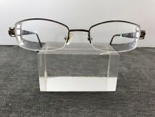 Oscar de la Renta Eyeglasses ODLR383 278 50-20-135 Half Rimless Marble Print M08