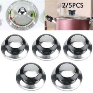 5Pcs Kitchen Cookware Pot Saucepan Replacement Pan Lid Hand Grip Knob Handle UK