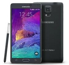 "SAMSUNG GALAXY NOTA 4 SM-910F Desbloqueado Negro 3gb 32gb 5.7"" Lte 4g Smartphone"