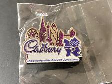 V Rare London 2012 Olympics Pin Badge Cadbury Sponsor Skyline Logo Christmas