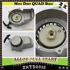 2X Alloy Pull Start/Starter 2 Stroke 47/49cc Mini Dirt/Pit Pocket  ATV Quad Bike