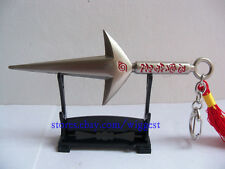 Naruto Shippuuden Minato Namikaze Silver Kunai 4th Hokage Yondaime Cosplay Knife