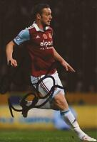 WEST HAM: KEVIN NOLAN SIGNED 6x4 ACTION PHOTO+COA