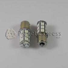 2 x Bombillas 18 LED SMD 5050 BA15S Coche Freno Posicion Bombilla Color Rojo 12V