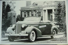 "12 By 18"" Black & White Picture 1937 Buick Special Convertible Coupe"