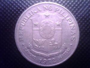 PHILIPPINES  1  PISO  1972    BIG  COIN  JUL31