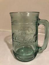 Coca Cola Coke Glass Mug with Handle