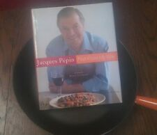 11 INCH DEEP side FRY PAN  LeCREUSET FLAME USED +BONUS Jacques Pepin Book