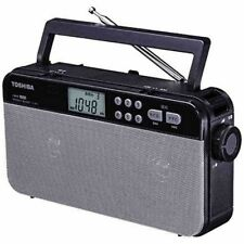 TOSHIBA TY-SR55 High Sound Quality Portable FM AM Radio From Japan with Tracking
