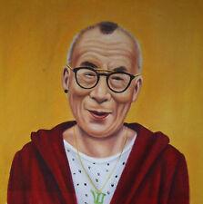 Portrait dalai lama petróleo lienzo óleo pinturas oil on canvas painting Pop Art