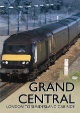 GRAND CENTRAL LONDON TO SUNDERLAND CAB RIDE DVD NEW REGION 2