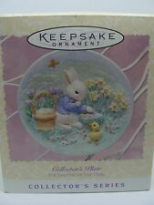 1996 Collector'S Plate, 3Rd,In Easter Series, Hallmark Ornament
